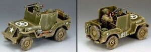 KING & COUNTRY D DAY DD161 U.S. ARMORED JEEP MIB