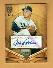 JOHNNY PODRES Dodgers 2013 Topps SUPREME AUTOGRAPH NrMt-Mt Comb S&H #/50