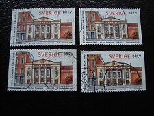 SUEDE - timbre yvert et tellier n° 2024 x4 obl (A29) stamp sweden (T)