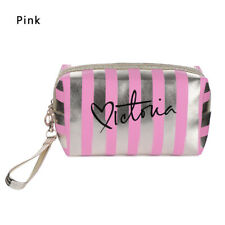 Stripe Cellphone Pouch Coin Purse Travel Makeup Case Cosmetic Bags
