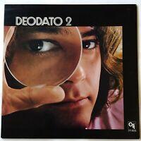 Deodato 2 (VG+/VG++) Orig UK gatefold 1973 CTI 6029. Jazz / funk. Stanley Clarke