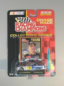 2002 Racing Champions 1/64 Diecast Jimmie Johnson #48 Chase The Race New Sealed