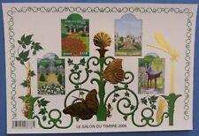 Bloc feuillet jardin doré n° 120 année 2008
