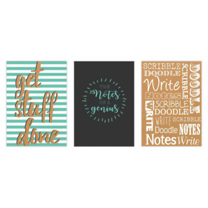 A5 Hardback Notebook quotes - 80 GSM - Ideal for Home & Office