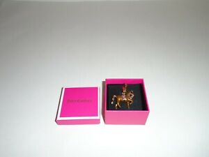 Juicy Couture C-Horse Charm New In Box