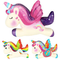 Unicorn Squishies Super Squishy Slow Rising Scented Stress Relief Toy Fidget Toy