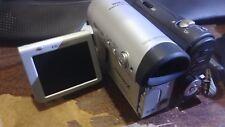 Sharp Vl-Z3 Camcorder Video Camera Minicam- Silver MiniDv Mini Dv
