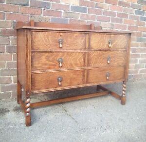 Vintage Solid Oak Drawers