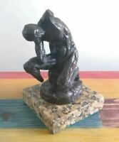 "HENRI MATISSE BRONZE SCULPTURE ""ATHLETE"" SIGNED AND NUMBERED"