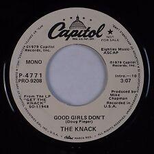 THE KNACK: Good Girls Don't USA CAPITOL Get the Knack DJ PROMO 45 NM-