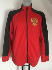 RUSSIA RED/GREY TRACK JACKET BY NIKE SIZE ADULTS LARGE BRAND NEW WITH TAGS