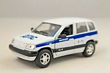 NIVA-CHEVROLET USSR RUSSIAN POLICE MILITCIYA RARE Collection Model Car 1/34scale