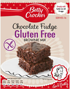 3 X 425g Betty Crocker Gluten Free Chocolate Fudge Brownie Mix