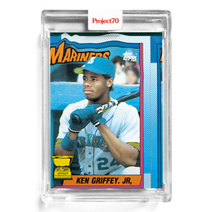 Topps Project 70 Card 6 - 1990 Ken Griffey Jr. by Bobby Hundreds -Presale-
