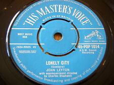 """JOHN LEYTON - LONELY CITY   7"""" VINYL"""
