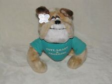 Russ Berrie Stuffed Plush Bulldog in Cute Smart Charming T Shirt