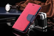 Genuine MERCURY Goospery Hot Pink Folio Flip Case Wallet Cover For Galaxy Note 8