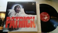 PATRICK Brian May rare original SIGNED lp 1979 soundtrack horror ost vinyl vares