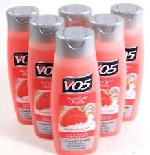 6 Alberto VO5 Moisture Milks Strawberries & Cream Moisturizing Shampoo 12.5oz