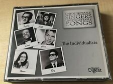 New 3CD Unforgettable Singers Unforgettable Songs INDIVIDUALISTS Reader's Digest