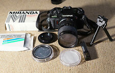Olympus OM40 with 28-70mm Tokina Lens + extras + Case Bag