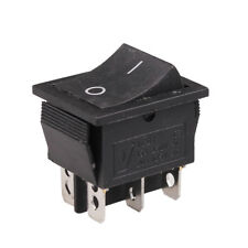 DPDT Double Pole Double Throw 6 Pin Rocker Switch KCD7 250V 15A /125V 20A