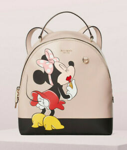 Kate Spade minnie mouse Disney medium backpack ~NWT~