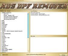 Professionnel DPF/FAP EGR Lambda Flap DTC Remover ASC 2017.05