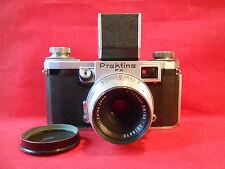 Praktina FX KW Spiegelreflexkamera Kamera  Objektiv Tessar 2,8/50 T ca.1955