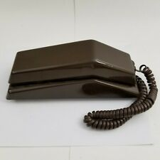VINTAGE 1980s WEBCOR ZIP BROWN TELEPHONE PHONE