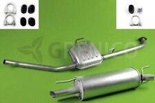 Komplette Auspuffanlage + Montagesatz OPEL OMEGA B 2.0 Stufenheck 94-99 Auspuff