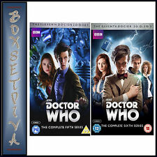 DOCTOR WHO -  COMPLETE SERIES 5 & 6 *BRAND NEW DVD *