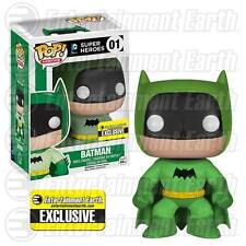 Pop! Vinyl - Batman 75th Anniversary Green Rainbow Batman exclusive - dented box