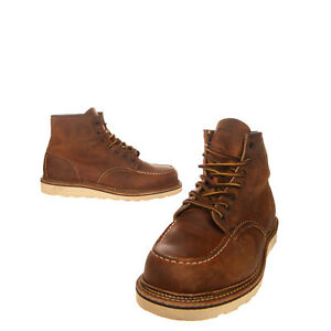 RRP€325 RED WING SHOE Leather Ankle Boots EU 43 UK 9 US 10 Burnished Made in USA