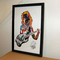 George Lynch Dokken Guitar Hard Rock Music Print Poster Wall Art 11x17