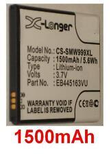 Batería 1500mAh tipo EB445163VU Para Samsung SCH-W999