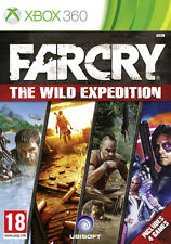 Far Cry Wild Expedition (FarCry 1 + 2 + 3 + Expansion Pack) Xbox 360 Brand New