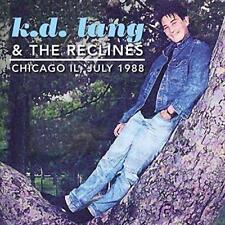 K.D LANG & THE RECLINES – LIVE IN CHICAGO, IL, JULY 1988 (NEW/SEALED) CD