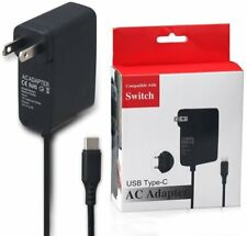 Home Wall Travel Charger Plug Cord AC Adapter Power Supply for Nintendo Switch