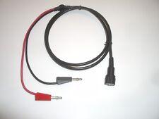 Mpj 19026te 50 Bnc Male To Banana Plugs Rg 58 Coax Test Cable Fits Pomona