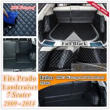 Custom Made Car Boot Cargo Mats Cover Liner for Toyota Landcruiser Prado 09 - 14