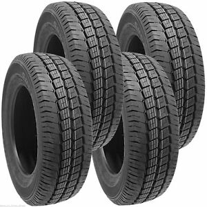 4 2257516 Budget 225 75 16 New Tyres x4 High Performance 225/75 Van Commercial