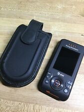 Sony Ericsson Walkman W580i Black+Orange AT&T Cellular Mobile Phone Slider Slide