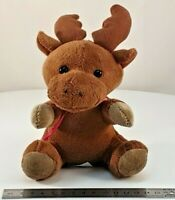 "Reindeer Plush Toy (15cm / 6"" tall) ideal for Christmas SEE VIDEO"