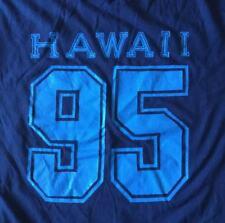Vtg 95 90s Hawaii Souvenir T-Shirt Large Tourist Soft Thin 50/50 Made In Usa