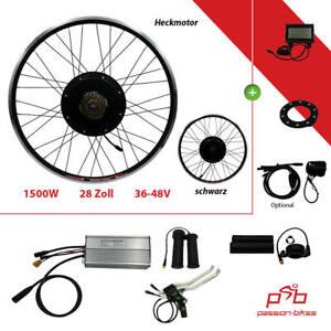 """E-Bike / Pedelec Umbausatz kit ~ 1500 W Heck Motor 28/29 """" ~ Shimano ~ Display"""