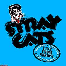 Rockabilly CD : STRAY CATS - Live BRUSSELS 6.7.2004 NEU