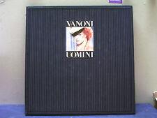 """ORNELLA VANONI-BOX 1 LP """"UOMINI""""-RARO 1983--PERFETTO"""