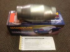 "3"" Magnaflow Universal 59959 Catalytic Converter High Flow Spun Metallic Cat"