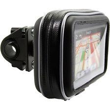"Bike Motorcycle handlebar Mount Case Garmin Nuvi Drive TomTom Via Go 5"" GPS"